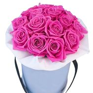 A box of pink roses - flowers and bouquets on uaflorist.com