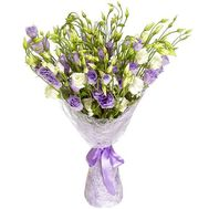 25 lisianthus in a bouquet - flowers and bouquets on uaflorist.com
