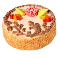 Biscuit cake - flowers and bouquets on uaflorist.com