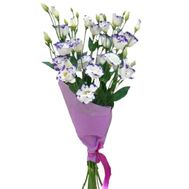 A small bouquet of eustoma - flowers and bouquets on uaflorist.com