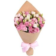 Delicate bouquet of eustoma - flowers and bouquets on uaflorist.com