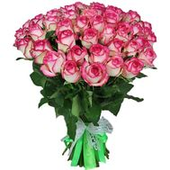 51 pink rose Jumilia - flowers and bouquets on uaflorist.com