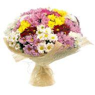 Букет із 23 хризантем - цветы и букеты на uaflorist.com