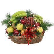 Подарочная корзина - Новогодний рай - цветы и букеты на uaflorist.com