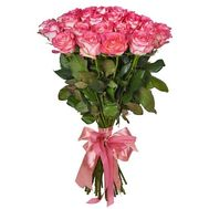 35 pink roses Jumilia - flowers and bouquets on uaflorist.com