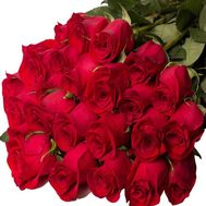 Bouquet of 25 meters imported roses - flowers and bouquets on uaflorist.com