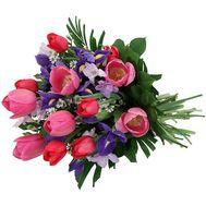 Букет весенних цветов из 21 цветка - цветы и букеты на uaflorist.com