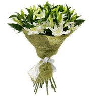 Bouquet of 15 lilies of flowers - flowers and bouquets on uaflorist.com