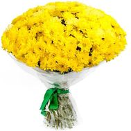 Bouquet of flowers from 45 chrysanthemums - flowers and bouquets on uaflorist.com