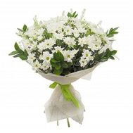 Bouquet of flowers from 15 chrysanthemums - flowers and bouquets on uaflorist.com