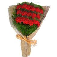 Букет из 19 гвоздик - цветы и букеты на uaflorist.com