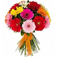 Bouquet of 17 gerberas flowers - flowers and bouquets on uaflorist.com