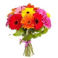 Bouquet of flowers from 21 gerberas - flowers and bouquets on uaflorist.com