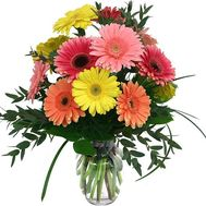 Bouquet of gerberas flowers - flowers and bouquets on uaflorist.com