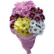 Букет цветов 5 ромашек (ромашковидных хризантем) - цветы и букеты на uaflorist.com