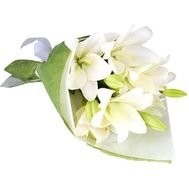 A bouquet of 3 lily flowers - flowers and bouquets on uaflorist.com