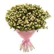 Букет із 51 кущовий троянди - цветы и букеты на uaflorist.com
