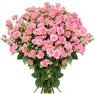 Букет из 21 розы-спрей - цветы и букеты на uaflorist.com