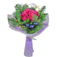 Bouquet of roses for the New Year 2020 - flowers and bouquets on uaflorist.com