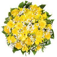 35 желтых роз - цветы и букеты на uaflorist.com