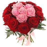 Букет из 17 роз - цветы и букеты на uaflorist.com