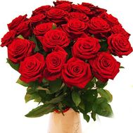25 red roses - flowers and bouquets on uaflorist.com