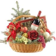 Gift Basket for New Year - flowers and bouquets on uaflorist.com