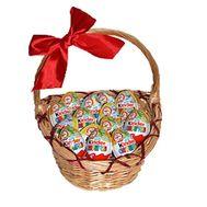 Подарочная корзинка киндеров - цветы и букеты на uaflorist.com