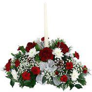 Композиція квітів - З наступаючим - цветы и букеты на uaflorist.com
