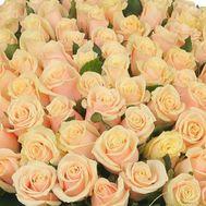 Кремовые розы поштучно - цветы и букеты на uaflorist.com