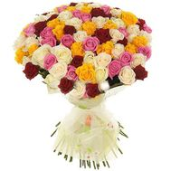 Bouquet of 101 roses - flowers and bouquets on uaflorist.com