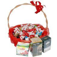 Конфеты и чай - цветы и букеты на uaflorist.com