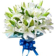 Bouquet of 25 lilies - flowers and bouquets on uaflorist.com