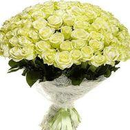 Букет из 121 зеленой розы - цветы и букеты на uaflorist.com