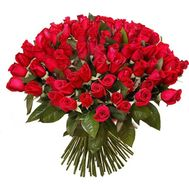 A bouquet of 101 red roses - flowers and bouquets on uaflorist.com