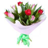 Букет из 11 тюльпанов - цветы и букеты на uaflorist.com
