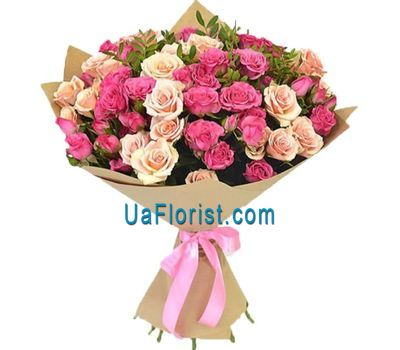 """25 bush roses"" in the online flower shop uaflorist.com"