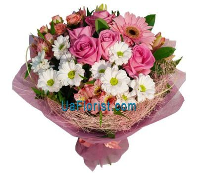 """""""Bouquet of flowers - Recognition in love"""" in the online flower shop uaflorist.com"""