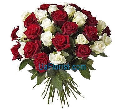 """""""Классический праздничный букет"""" в интернет-магазине цветов uaflorist.com"""
