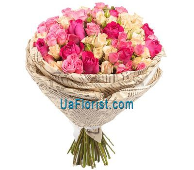 """Beautiful bouquet of roses"" in the online flower shop uaflorist.com"