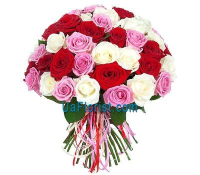 """Unusually beautiful bouquet of roses"" in the online flower shop uaflorist.com"