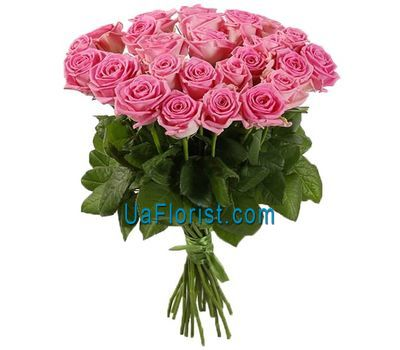 """A delightful bouquet of pink roses"" in the online flower shop uaflorist.com"