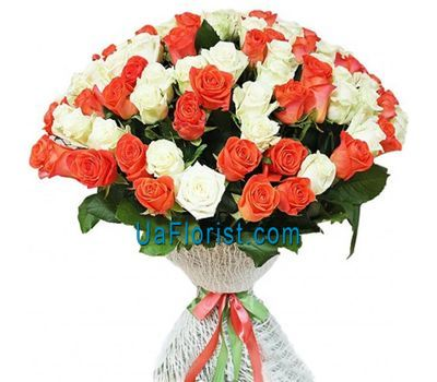 """101 rose in a bouquet"" in the online flower shop uaflorist.com"