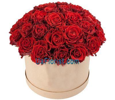 """""""Чарующие розы в коробке"""" в интернет-магазине цветов uaflorist.com"""