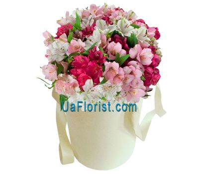 """Box with alstroemerias"" in the online flower shop uaflorist.com"