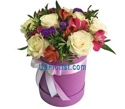 """""""Небольшая коробочка с цветами"""" в интернет-магазине цветов uaflorist.com"""