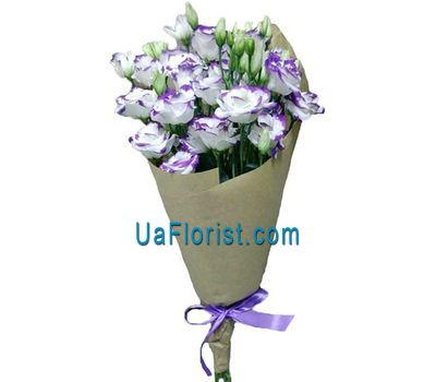 """11 eutoma in kraft paper"" in the online flower shop uaflorist.com"