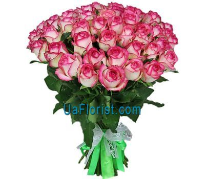 """51 pink rose Jumilia"" in the online flower shop uaflorist.com"