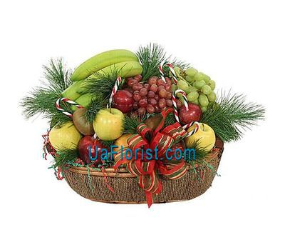 """Gift basket - New Year''s paradise'"" in the online flower shop uaflorist.com"
