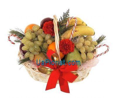 """Новорічний кошик фруктів"" в интернет-магазине цветов uaflorist.com"